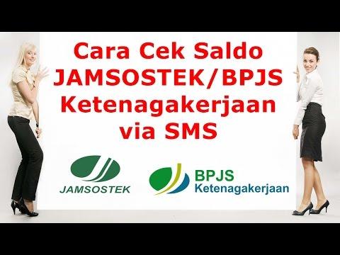 Cek SALDO JAMSOSTEK - Cara Cek Saldo Jamsostek via SMS