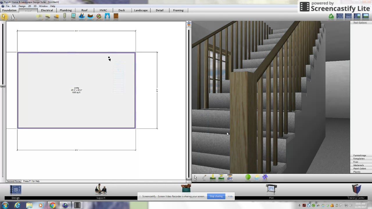 Adding Stairs to Punch Home design - YouTube