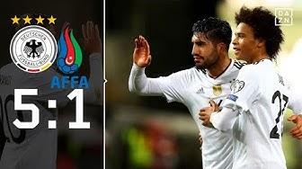 DFB-Elf schnappt sich den Rekord: Deutschland - Aserbaidschan 5:1 | Highlights | WM-Quali | DAZN