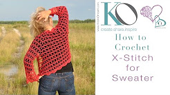 How to Crochet X Stitch
