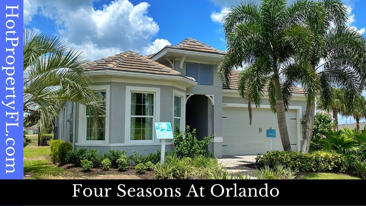New Model Home Tour | Four Seasons At Orlando | 2-3 BR, 2,328 sq ft | Dominica Model | $370,990 Base