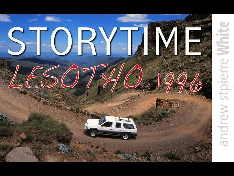 STORY TIME Lesotho 1996, with Andrew StPierre White