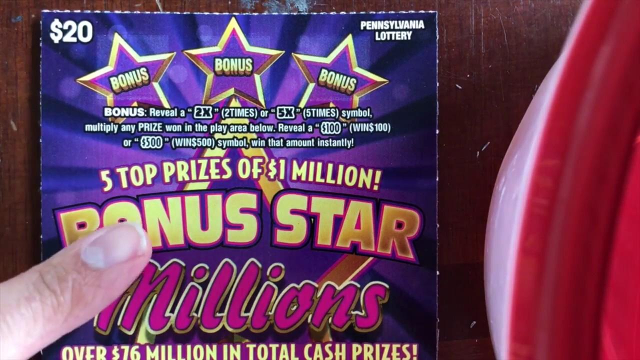 Pa million dollar raffle prizes flyer