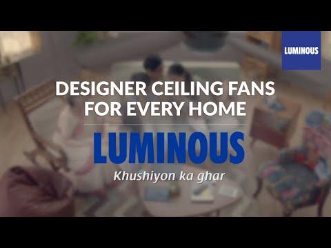 Luminous Designer Fans - #LookUp