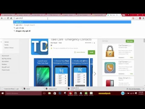 How To Download Android Apk Files Of Android Apps Or Games To Your PC