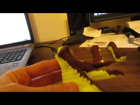 3D printing T. rex growth series
