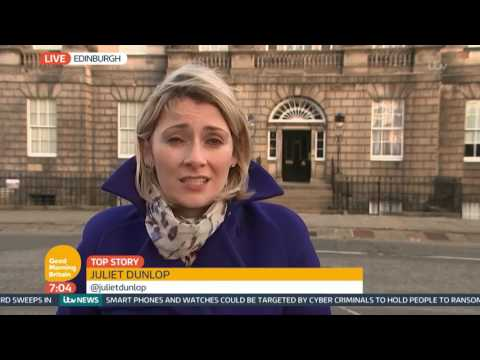 Nicola Sturgeon Seeking Second Referendum on Scottish Independence | Good Morning Britain