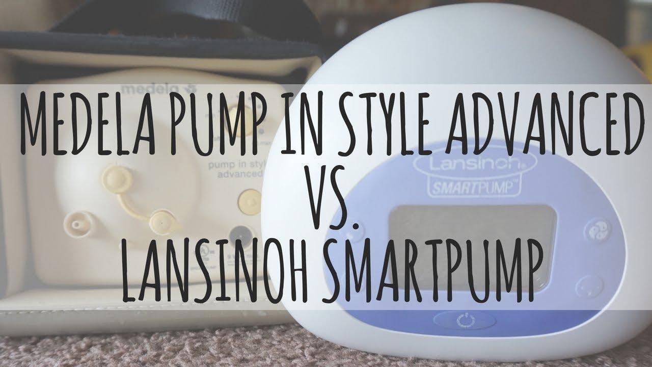 Medela Pump In Style Advanced Vs Lansinoh Smartpump Breast Pump
