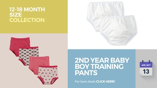 2nd Year Baby Boy Training Pants 12-18 Month Size Collection
