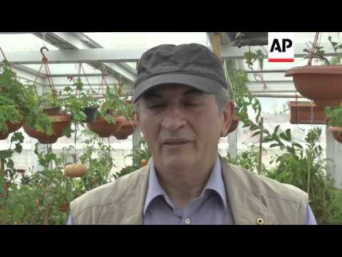 Organically-grown crops take root in Iran
