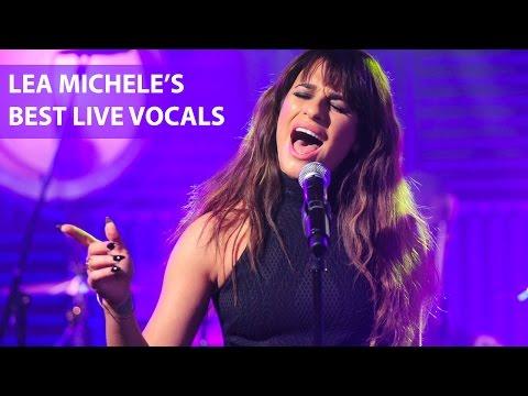 Lea Michele's Best Live Vocals