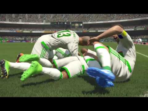 PS4 PES 2017 Gameplay Zambia vs Algerie HD