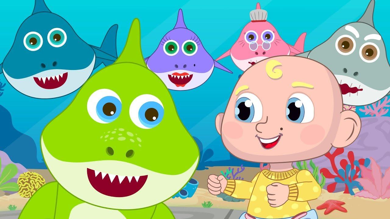 Baby Shark Original Dance Baby Shark Challenge + 30min of ...