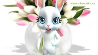 Поздравление с 8 марта ❧❧❧ Цветы коньяк для вдохновения ❧❧❧ Поздравления от Зайки Обожайки