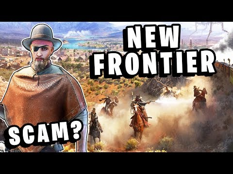 New Frontier - New Wild West Online Scam? Free To Play, Alien Monster Survival & Battle Royale?
