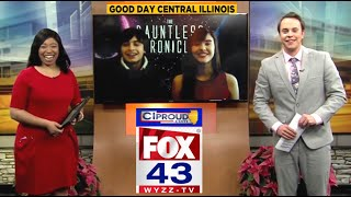 #1 BESTSELLER *The Dauntless Chronicles* - Teen Coauthors Interviewed on WYZZ-TV FOX in Illinois