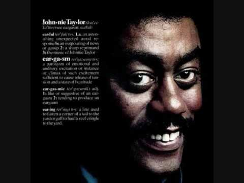 Johnnie Taylor (Usa, 1976)  - Eargasm (Full Album)