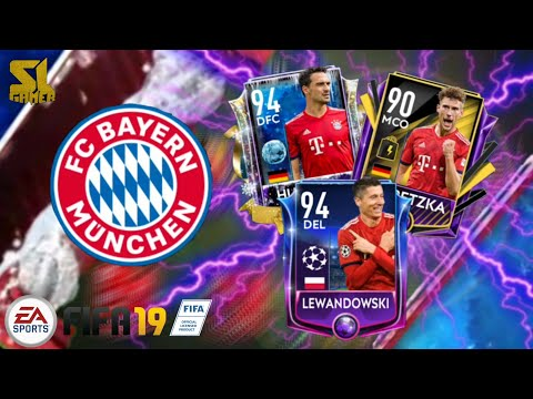 FULL BAYERN MUNICH SPECIAL CARD SQUAD!! FIFA MOBILE 19 🇩🇪⚽🇩🇪⚽🇩🇪