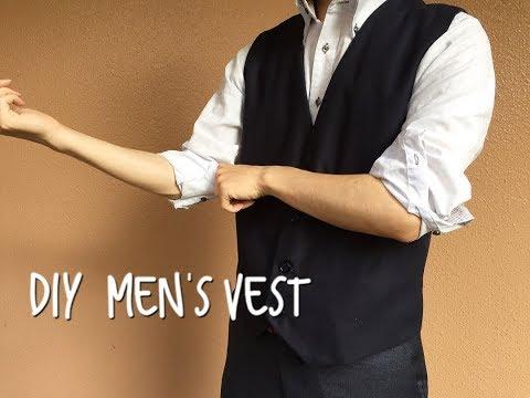 DIY men's vest  Vol.004