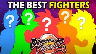 Top 5 Characters in Dragon Ball FighterZ