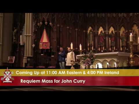 John Curry Requiem Mass - St Patricks Old Cathedral, New York, May 13th 2017