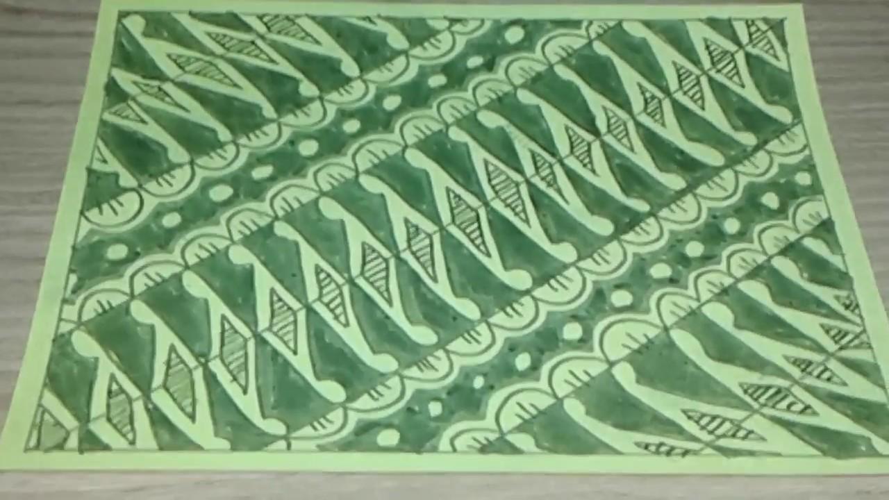 76+ Gambar Batik Mudah Ditiru Paling Keren