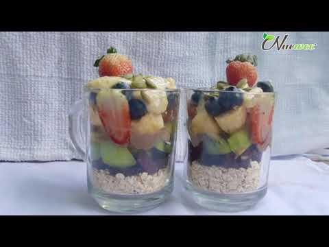 Recipe | DIY Unicorn Fruits | Homemade Organic Protein shakes