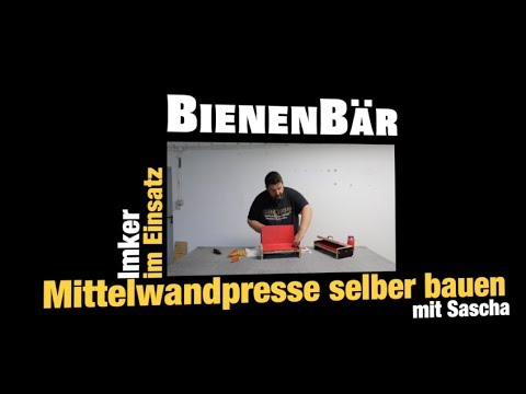 mittelwandpresse selber bauen f r 40 euro diy youtube. Black Bedroom Furniture Sets. Home Design Ideas
