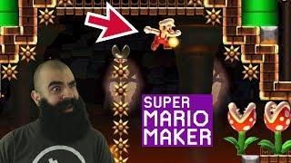 The Danger Zone | Super Expert No Skip Challenge | Mario Maker [#39]