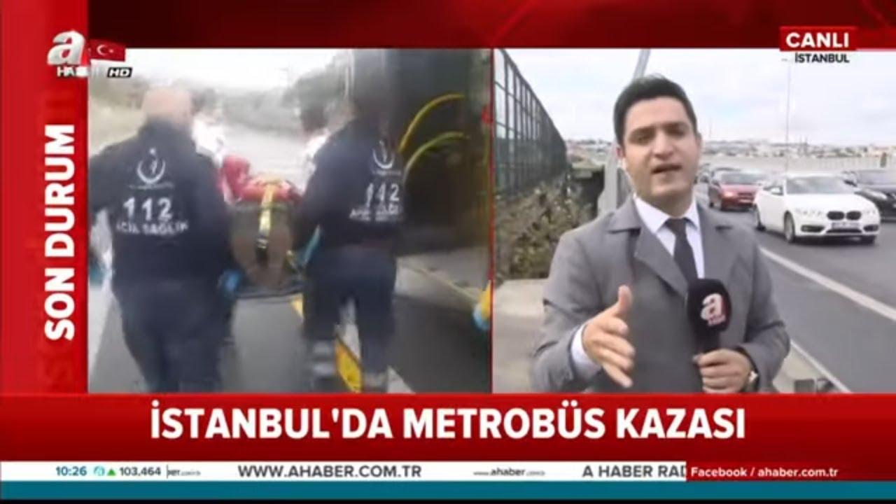 Son dakika: Metrobüs Kaza Yaptı!