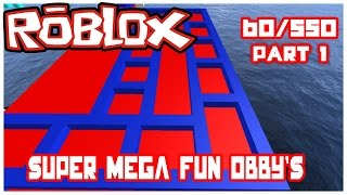 Let's Play Roblox-835 Mega Fun Obby #1