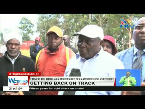 Farmers in Nyandarua eagerly await revival of the railway in the county