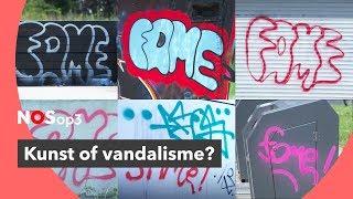 Hij spuit heel Utrecht onder met graffiti
