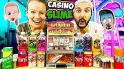 SLIME CASINO CHALLENGE mit Überraschungs Cola-Schleim! Kaan VS. Kathi! Wer hat mehr Glibber-Glück?
