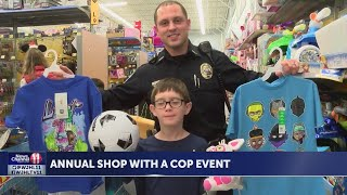 Sixty-Five children participated in the fourth Annual Shop with a Cop Event