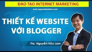 [WEBINAR]: Thiết kế website và Landing Page với Blogger, Blogspot miễn phí