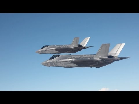 Israel Air Force (IAF) Pilots Maiden flight on the two new F-35I's