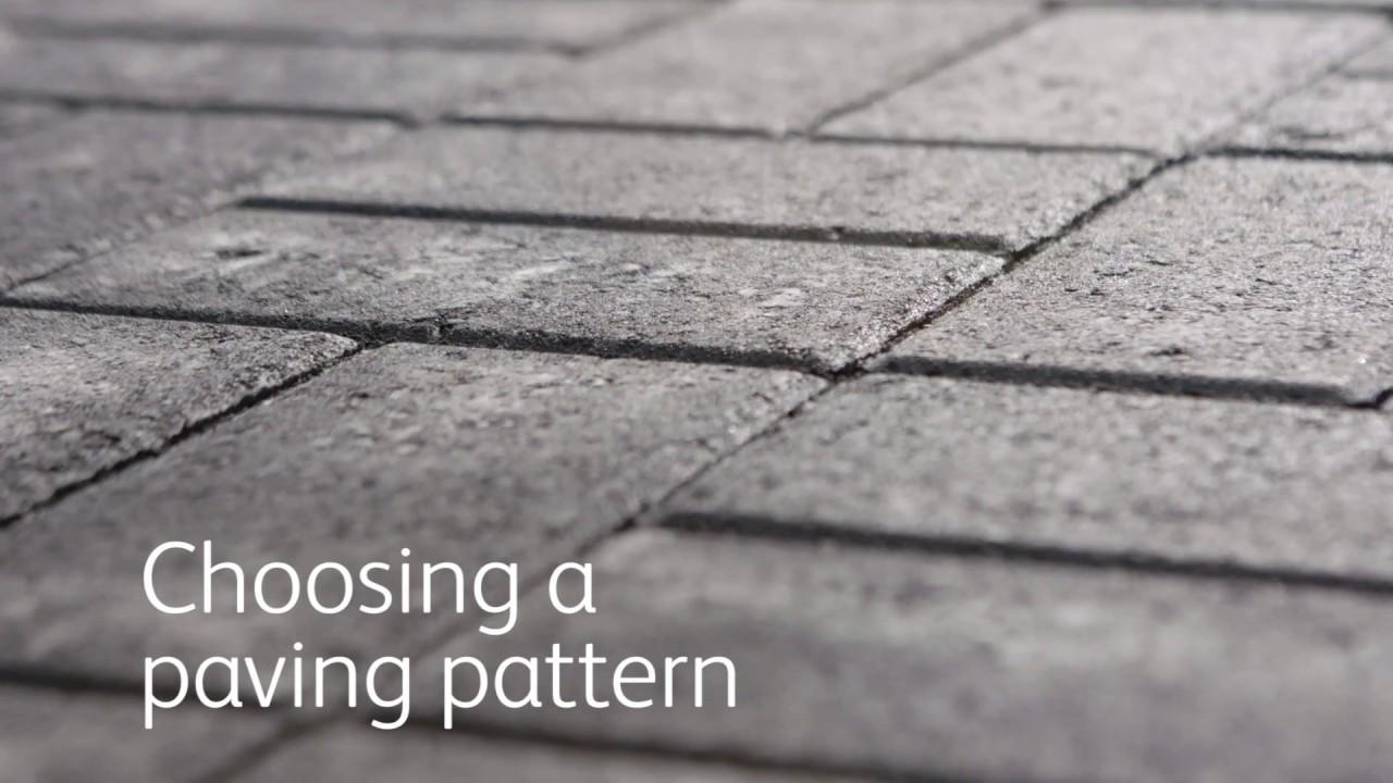 Block Paving Patterns - Choosing A Paver Pattern | Garden Ideas & Tips |  Homebase
