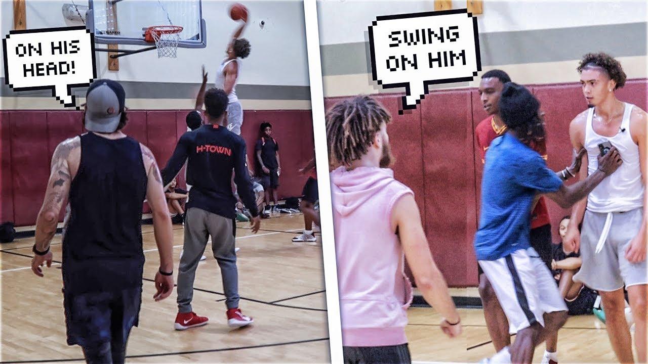I Went Off Against Trash Talking Hoopers!! Mic'd Up 5v5 Basketball!