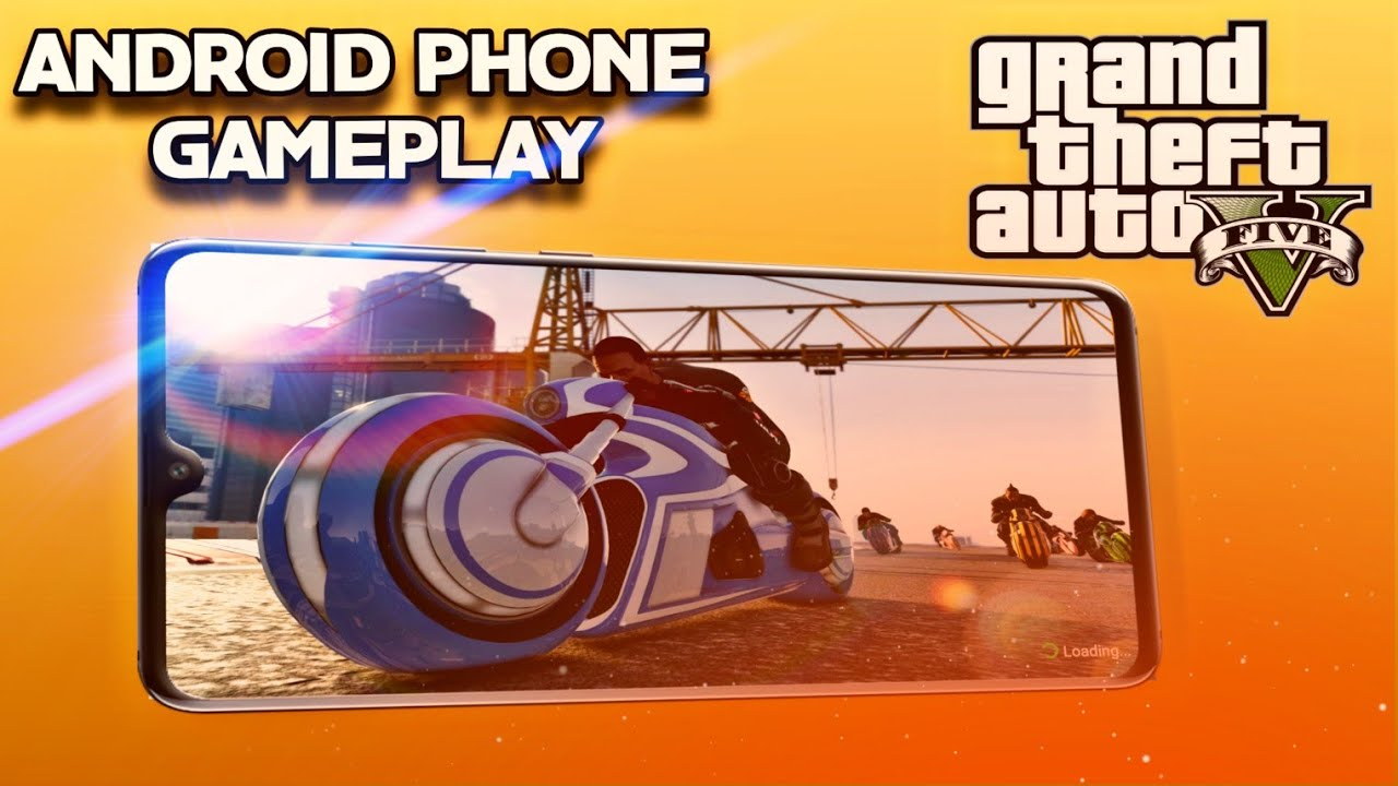 🔥 GTA V Android Phone Gameplay ! 100% Real Game , No Fan made , No Mode !