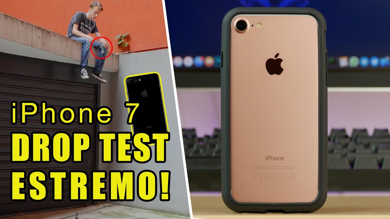 iphone drop test iphone 7 drop test estremo con rhinoshield cover 11808