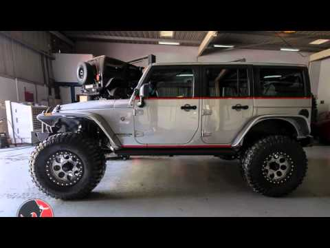 Jeep Wrangler JKU Galvatron built by Ramy 4x4