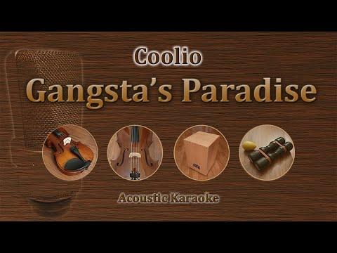 Gangsta's Paradise - Coolio (Acoustic Karaoke)