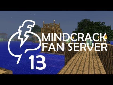Mycelium Island & Bridge Building - MindCrack Fan Server - Ep13