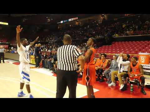 Final seconds Poly/Stephen Decatur boys basketball 3A state semifinal 03/09/17