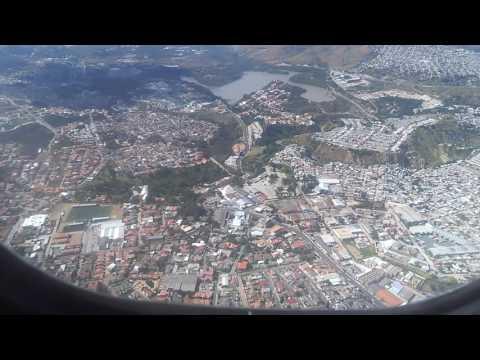Aterrizaje en el Aeropuerto Internacional Toncontín - Tegucigalpa, Honduras