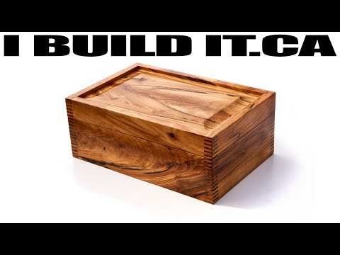 Making This Solid Wood Box - Woodworking - Box Joints
