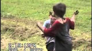 Family Videos-mud Fight