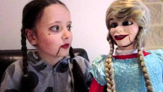 World's Youngest Young Ventriloquist Girl - 8 years old Thumbnail