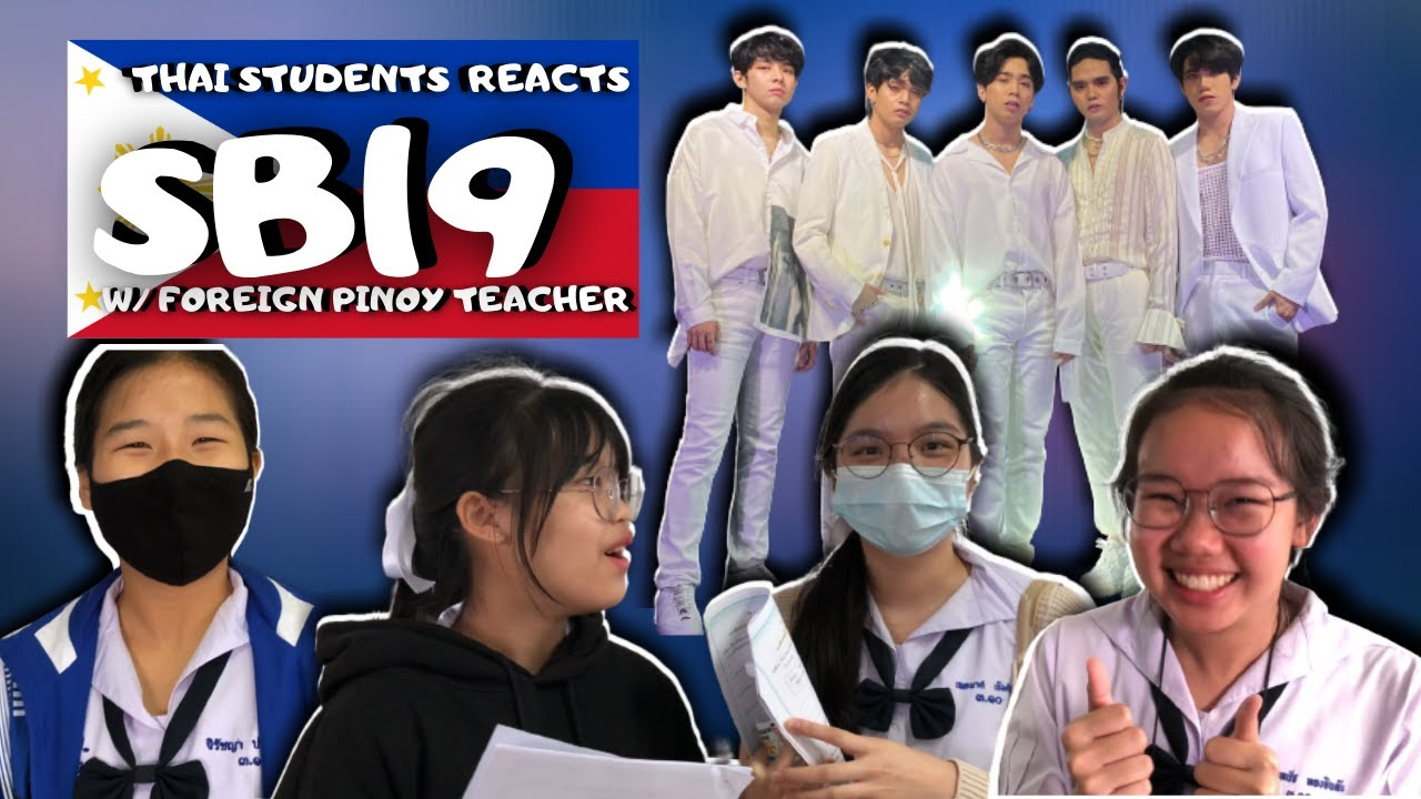 SB19 | Intro + Love Goes + Go Up Dance Break | YouTube FanFest Stage  FOREIGN ANF THAI REACTION